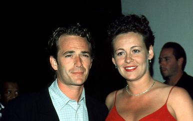 Luke Perry i Minnie Sharp (Foto: Profimedia)