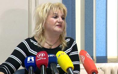 Radmila Čahut Jurišić predsjednica Sindikata zdravstva hHrvatske (Foto: Dnevnik.hr)