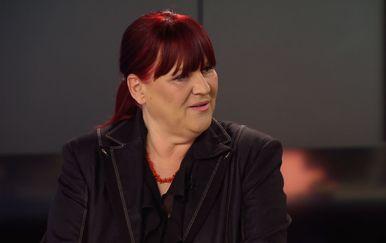 Ravnateljica Zavoda za hitnu medicinu Maja Grba Bujević gostuje u Dnevniku Nove TV (Foto: Dnevnik.hr)