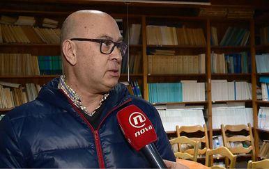 Nenad Jasprica iz Instituta za more i priobalje Dubrovnik (Foto: Dnevnik.hr)