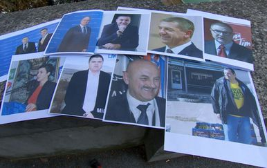 Plakati za izbore u Ličko-senjskoj županiji (Foto: Dnevnik.hr)