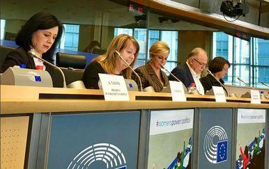 Predsjednica Kolinda Grabar-Kitarović u posjetu Bruxellesu (Foto: Twitter)