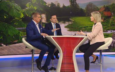 Darko Milinović, Marijan Kustić, i Sabina Tandara Knezović (Foto: Dnevnik.hr) - 2