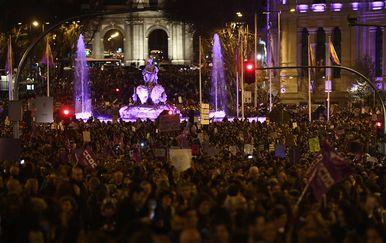 Prosvjed u Madridu (Foto: AFP)