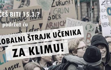 School Strike 4 Climate Croatia (Foto: Facebook)
