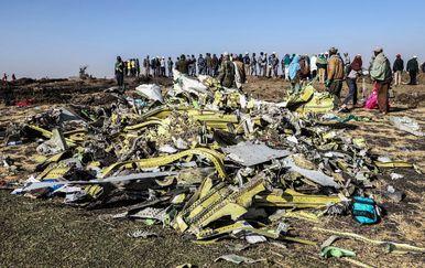 Srušeni avion u Etiopiji (Foto: AFP)
