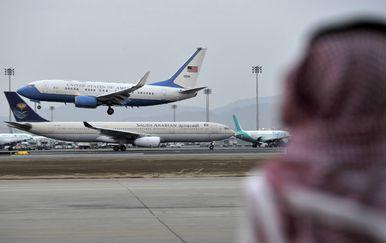 Zračna luka Abdul Aziz (Foto: STRINGER / AFP)