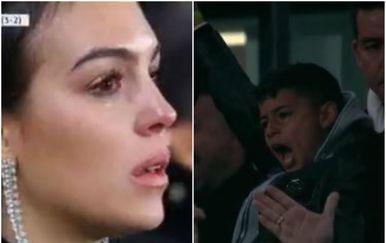Georgina i Cristiano Junior (Screenshot)