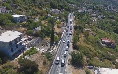 Prometne gužve na jugu Hrvatske (Foto: Dnevnik.hr) - 2