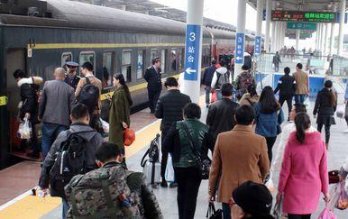 Željeznička stanica u Kini