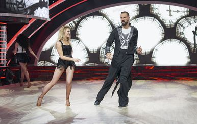 Ples sa zvijezdama, Ivan Šarić i Paula Jeričević (Foto: Nova TV)