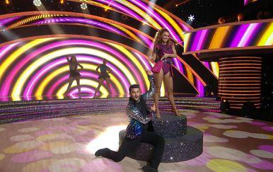 Ples sa zvijezdama: Damir Kedžo i Helena Janjušević (Foto: Ples sa zvijezdama) - 1