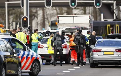 Pucnjava u Utrechtu (Foto: AFP)