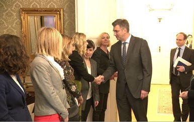 Sastanak premijera Plenkovića s organizatoricama prosvjeda #spasime (Foto: Dnevnik.hr) - 1
