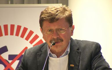 Vilim Ribić iz Matice hrvatskih sindikata (Foto: Dnevnik.hr)