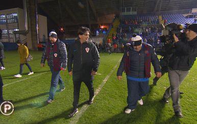 Posjetili su trening hrvatske nogometne reprezentacije (Foto: Provjereno)