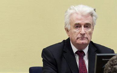 Radovan Karadžić u sudnici (Foto: AFP)