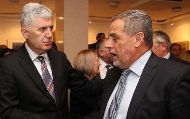 Dragan Čović i Milan Bandić (Foto: Boris Sčitar/Večernji list/PIXSELL)