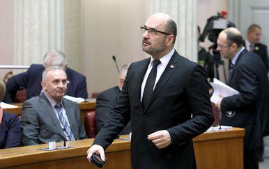 Potpredsjednik Hrvatskog sabora Milijan Brkić (Foto: Patrik Macek/PIXSELL)