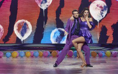 Ples sa zvijezdama, Viktorija Đonlić Rađa i Marko Mrkić (Foto: Nova TV)