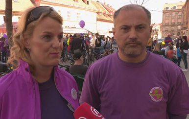 Dr. Ana Sruk i oboljeli od epilepsije Damir Đurić (Foto: Dnevnik.hr)