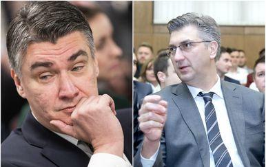 Zoran Milanović i Andrej Plenković (Foto: Davor Puklavec/PIXSELL)