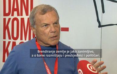 Osnivač najveće marketinške mreže Martin Sorrell (Foto: Dnevnik.hr)