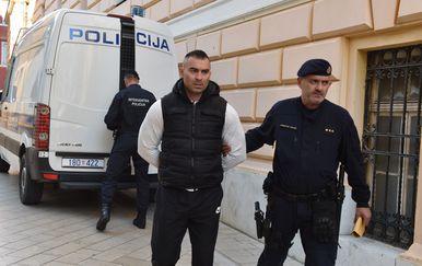 Privođenje Darka Kovačevića iz policijske postaje sucu istrage (Foto: Hrvoje Jelavic/PIXSELL)
