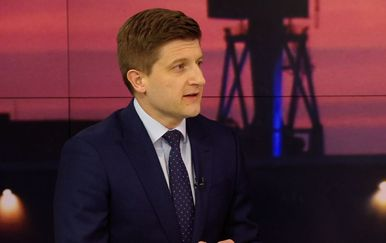 Ministar financija Zdravko Marić gostuje u Dnevniku Nove TV (Foto: Dnevnik.hr)