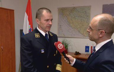 Viceadmiral Robert Hranj, načelnik Glavnog stožera Oružanih snaga RH, i Mislav Bago