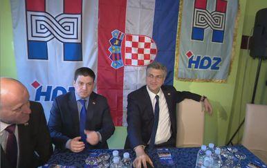 Andrej Plenković u kampanji