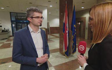 Marko Košiček, savjetnik ministrice znanosti i obrazovanja, i Martina Bolšec Oblak