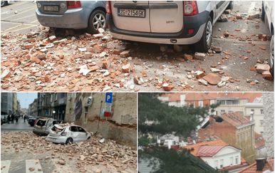 Serija potresa u Zagrebu
