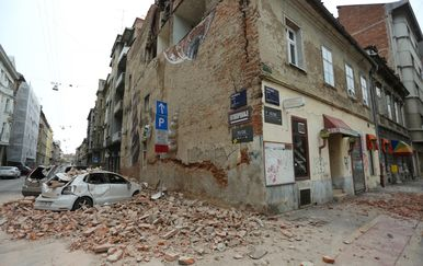 Snažan potres u Zagrebu