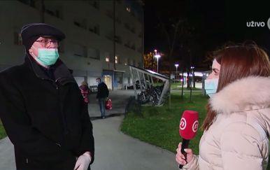 Mirko Bošnjak, sanacijski upravitelj Studentskog doma Cvjetno naselje, i Valentina Baus