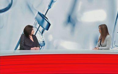 Goranka Petrović, epidemiologinja HZJZ-a, i Barbara Štrbac