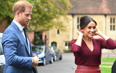 Meghan Markle i princ Harry - 1