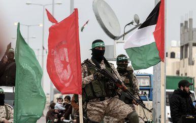 Pripadnici brigade Hamasa (Foto: AFP)