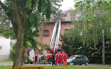 Požar u Remetincu (Foto: Dnevnik.hr)