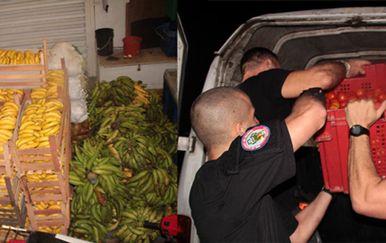 Zaplijenjene su tone hrane (Foto: Europol)