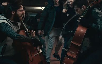 Novi spot 2CELLOS (FOTO: Screenshot/Youtube)