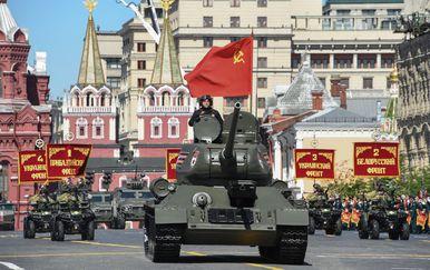 Vojna parada u Rusiji (Foto: AFP) - 2