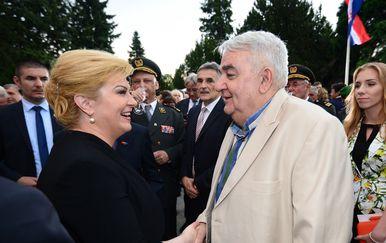 Kolinda Grabar-Kitarović, Ivan Zvonimir Čičak (Foto: Marko Prpic/PIXSELL)