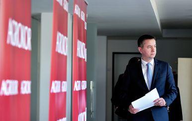 Fabris Peruško, Vladin povjerenik za Agrokor (Foto: Sandra Simunovic/PIXSELL)