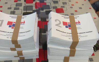 Počelo prikupljanje potpisa za dva referenduma (Foto: Dnevnik.hr) - 3