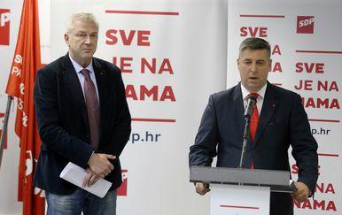 Ranko Ostojić i Franko Vidović (Foto: Pixell)