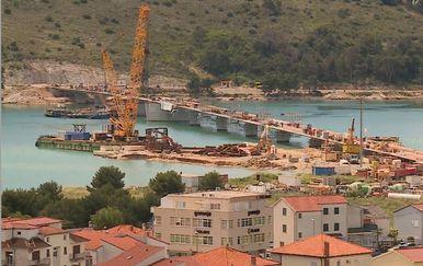 Na gradilištu čiovskog mosta (Foto: Dnevnik.hr) - 2