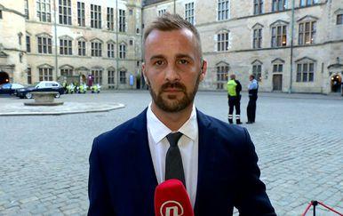Vjekoslav Đaić uživo iz Helsingora (Foto: Dnevnik.hr)