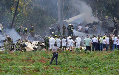 Pad aviona na Kubi (Foto: AFP) - 3