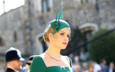 Kitty Spencer na vjenčanju princa Harryja i Meghan Markle - 2